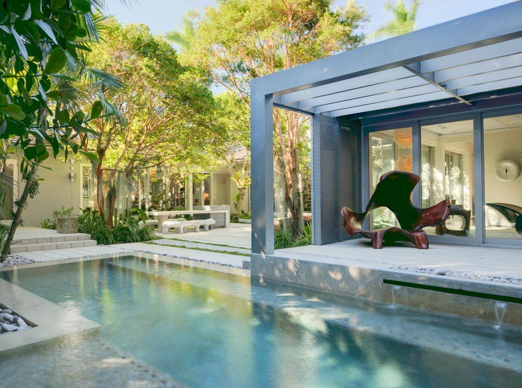 Miami Beach Modern Raymond Jungles Inc